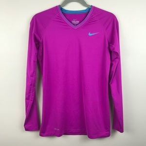 Nike Pro Combat Fitted Dri-Fit Long Sleeve Top